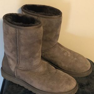 UGG Like New Brown Short Boots